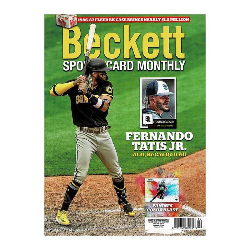 Beckett Sports Card Monthly 2020年 10月号 #427 月刊ベケット トレーディングカード プライスガイド 9/8入荷!!