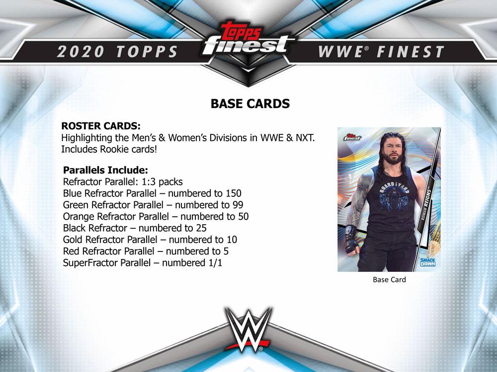 2020 Topps WWE Finest 12/9入荷!