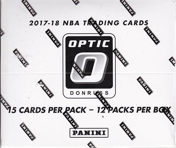 NBA 2017-18 Panini Donruss Optic Basketball Super Value Rack Box