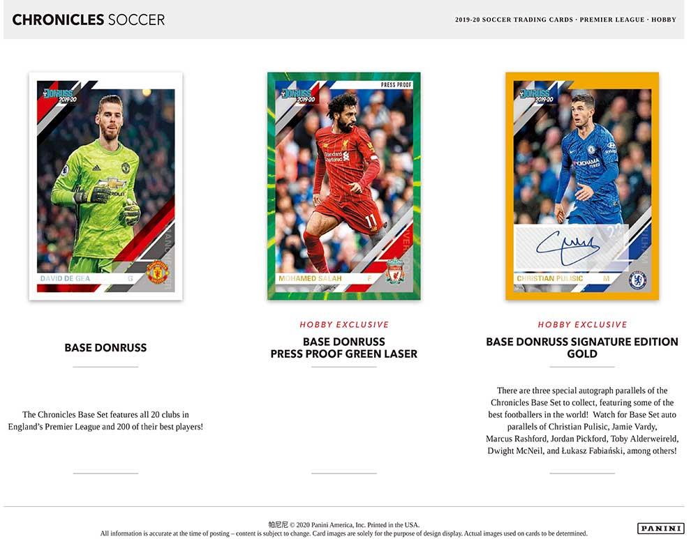 2019-20 Panini Chronicles Soccer 7/8入荷
