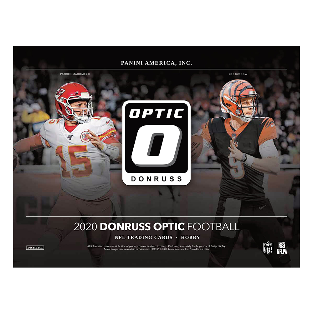 NFL 2020 Panini Donruss Optic Football 2/10入荷