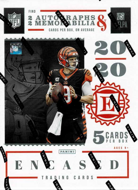 NFL 2020 Panini Encased Football 3/26入荷!