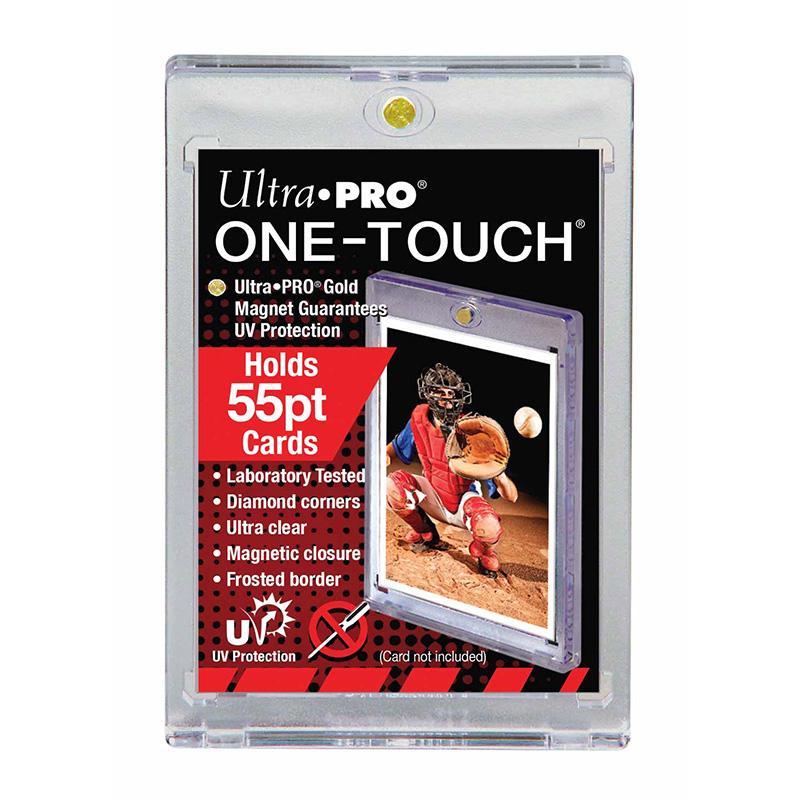ウルトラプロ (Ultra Pro) 55PT UVワンタッチマグネットホルダー 1.5mm厚 #81909   55PT UV One Touch Magnet Holder