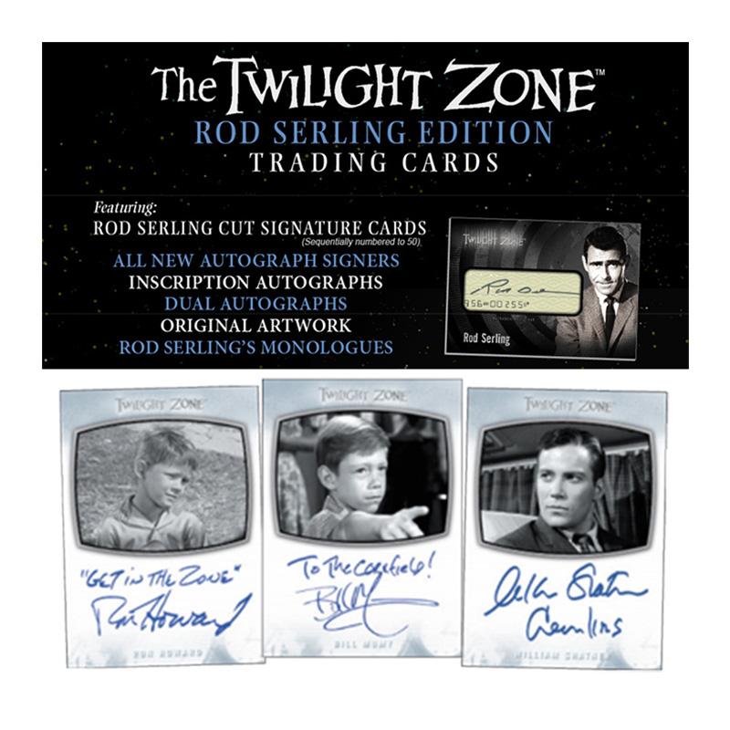 トワイライト・ゾーン 2019 Rittenhouse The Twilight Zone Rod Serling Edition Trading Cards 、7/31入荷!