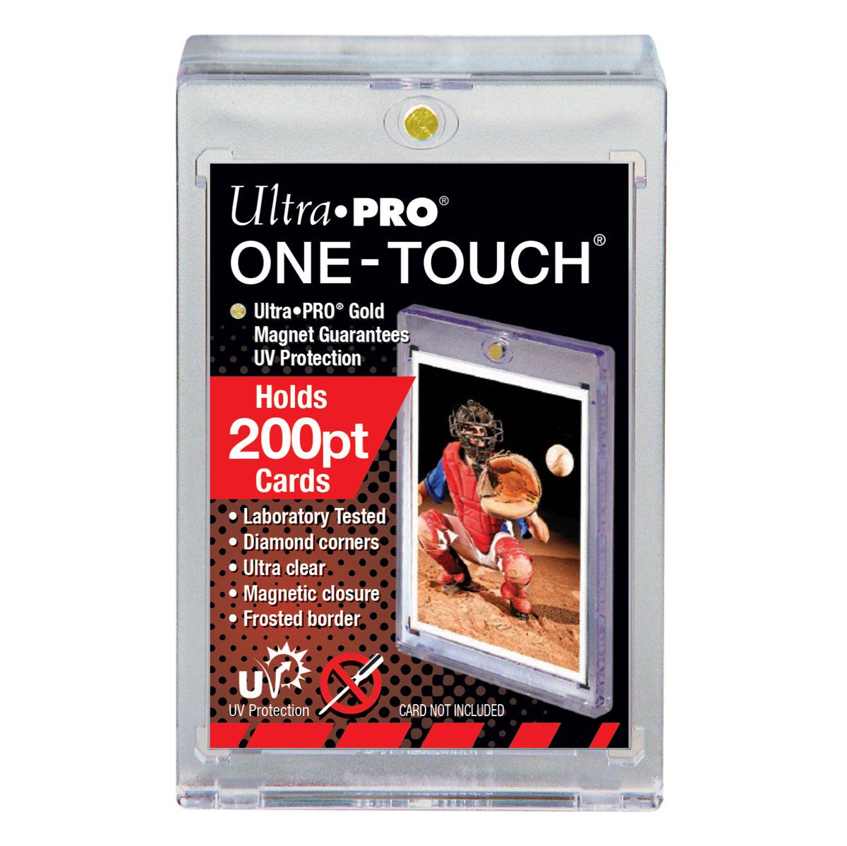 ウルトラプロ (Ultra Pro) 200PT UVワンタッチマグネットホルダー 5.7mm厚 #85834 | 200PT UV ONE-TOUCH Magnetic Holder