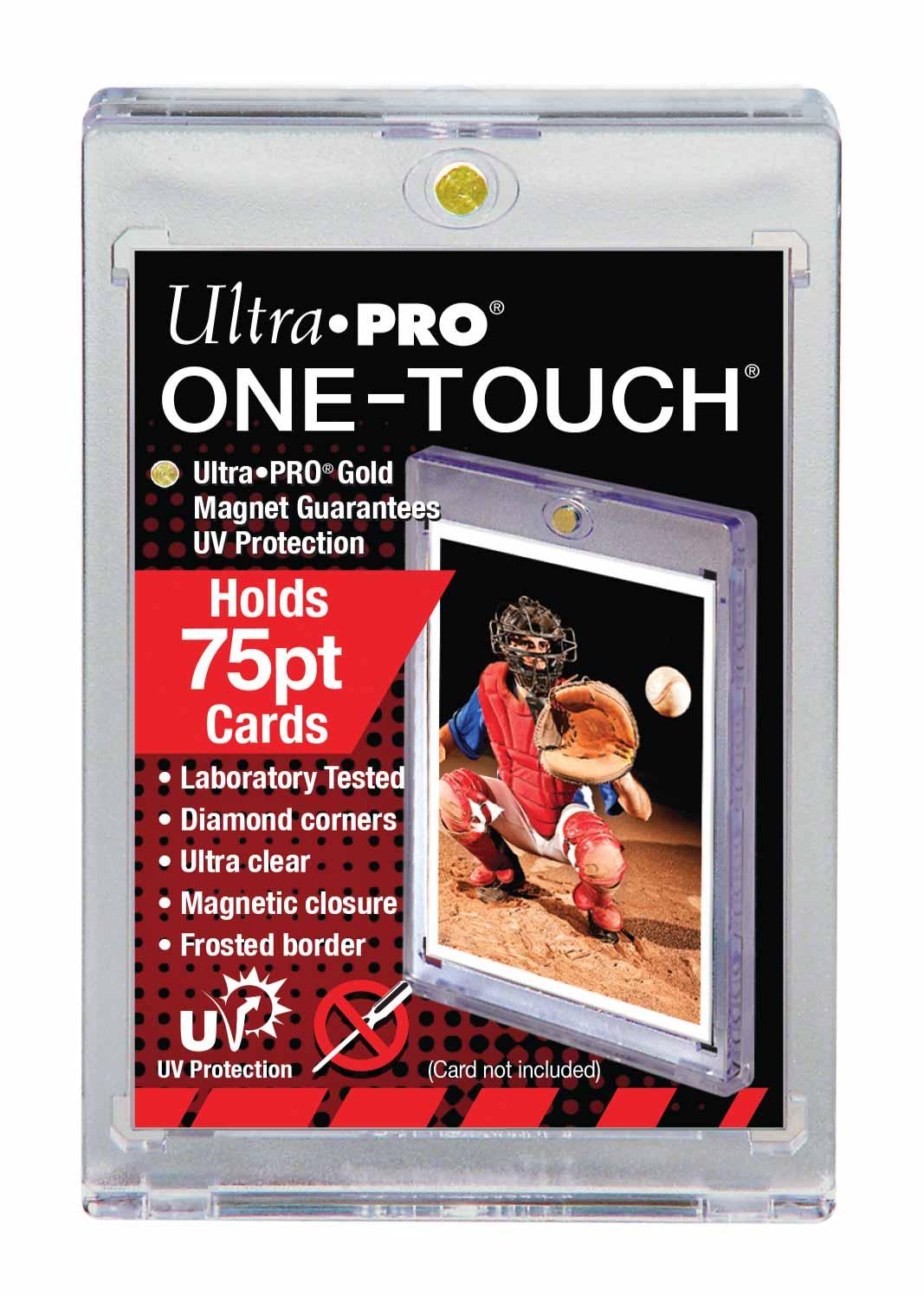 ウルトラプロ (Ultra Pro) 75PT UVワンタッチマグネットホルダー 2mm厚 #81910 | 75PT UV One Touch