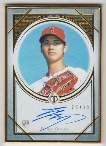 大谷翔平 MLBカード 2018 Topps Transcendent Collection Rookie Autographs 23/25
