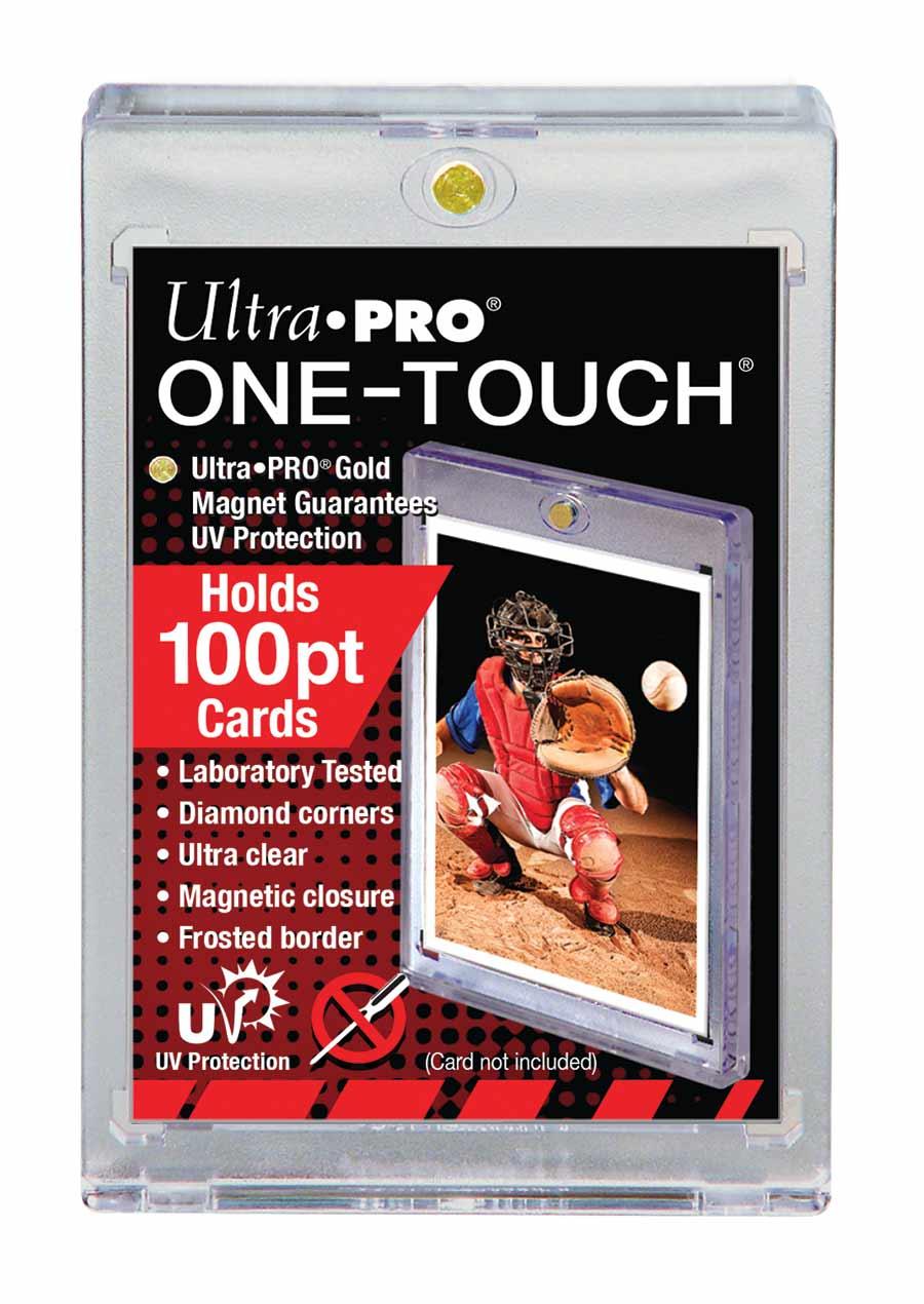 Ultra Pro (ウルトラプロ) 100PT UVワンタッチマグネットホルダー 2.5mm厚 UV #81911   100PT UV One Touch