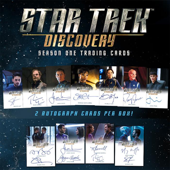 スタートレック 2019 Rittenhouse Star Trek Discovery Season 1 Trading Cards