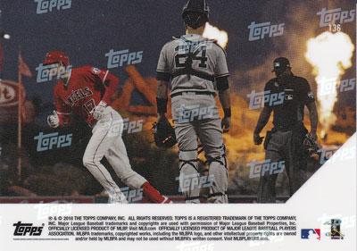 大谷翔平 #136 MLB月間4HR&25K以上達成記念 カード 4th Player In Modern Era With 4 + HRs & 25 + Ks In The Same Month - Shohei Ohtani MLB Topps Now Card  5/15入荷