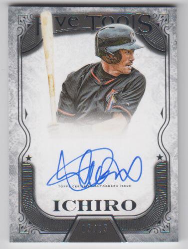 イチロー MLBカード 2015 Topps Five Star Five Tool Autographs 05/25 Ichiro