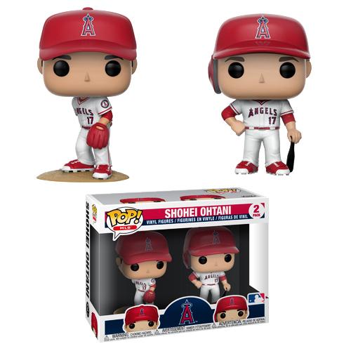 ファンコ ポップ!大谷翔平 (エンゼルス) MLB 2体セットフィギュア / Shohei Ohtani 2-Pack (Los Angeles Angels) MLB Funko Pop!