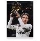 ルカ・モドリッチ 直筆サインフォト レアル・マドリード バロンドール ウィナー (Luka Modric Signed Real Madrid Photo: Ballon d'Or Winner)