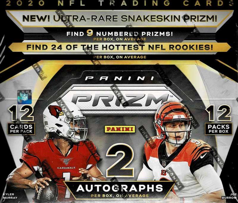 NFL 2020 Panini Prizm Football 12/9入荷!