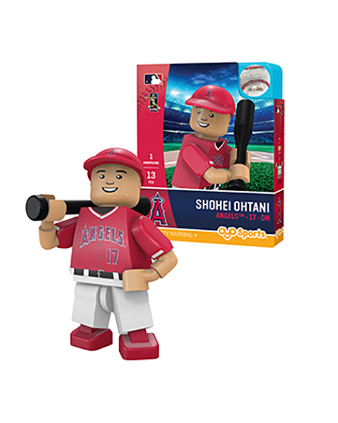 大谷翔平 ミニフィギュア ロサンゼルス・エンゼルス(バッティング/レッド) OYO Baseball Minifigure (Shohei Ohtani: Los Angeles Angels of Anaheim)