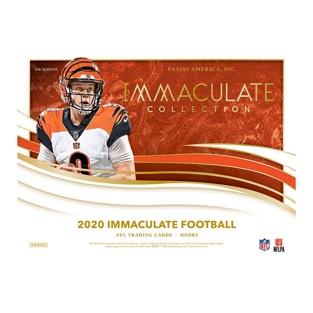 NFL 2020 Panini Immaculate Football 12/18入荷!