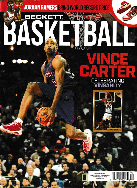 NBA Beckett Plus #334 2020年 7月号 (ベケット) 6/11入荷 !!