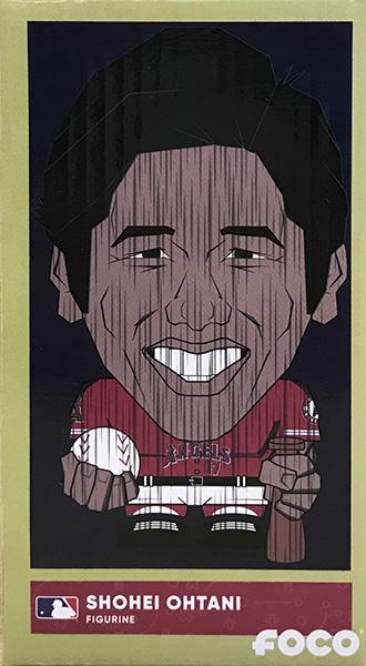 大谷翔平 2018 FOCO EEKEEZ ミニフィギュア ロサンゼルス・エンゼルス(レッド) / Shohei Ohtani (Los Angeles Angels #17) 2018 MLB FOCO EEKEEZ 5/18入荷!
