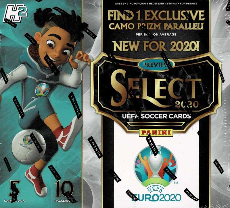 2019-20 Panini Select UEFA EURO 2020 Soccer Hobby Hybrid 9/23入荷!