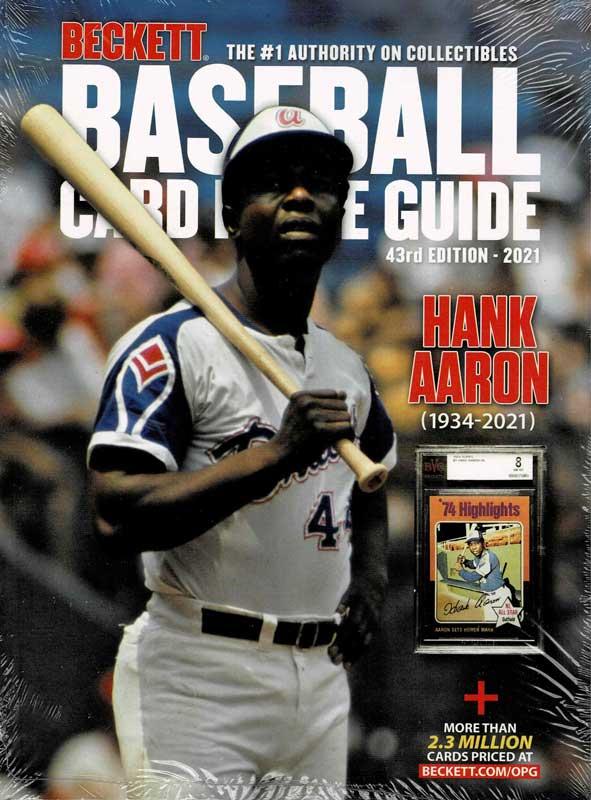 MLB Beckett Baseball Card Price Guide 2021年版 #43 (年刊ベケット)