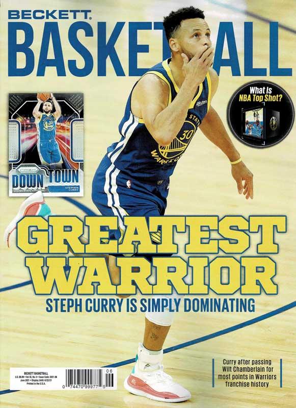 NBA Beckett Plus #345 2021年 6月号 (ベケット) 5/18入荷 !!
