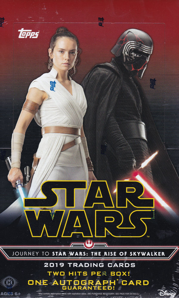 スター・ウォーズ 2019 Topps Journey to Star Wars Episode 9 : The Rise of Skywalker トレーディングカード 10/4入荷!