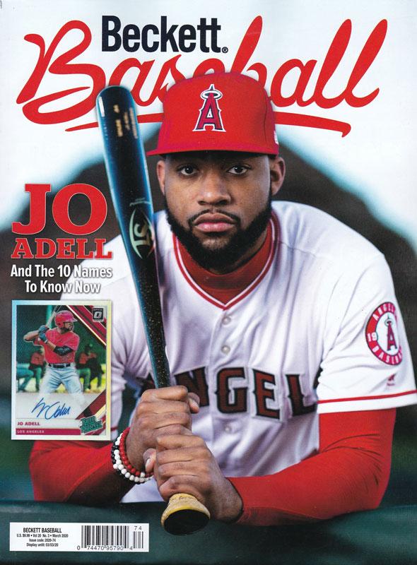【MLBベケット】 MLB Beckett Plus #168 2020年 3月号 1/28入荷
