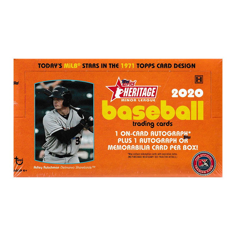MLB 2020 Topps Heritage Minor League  10/7入荷