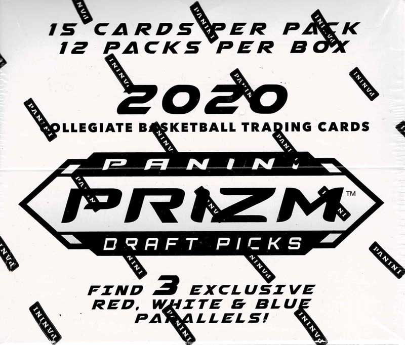2020 Panini Prizm Draft Picks Collegiate Basketball Cello Pack 12/23入荷!