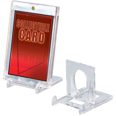 Ultra Pro (ウルトラプロ)  可動式カードスタンド 5個入り #82022 | Two-Piece Small Stand for Card Holders (5 per pack)