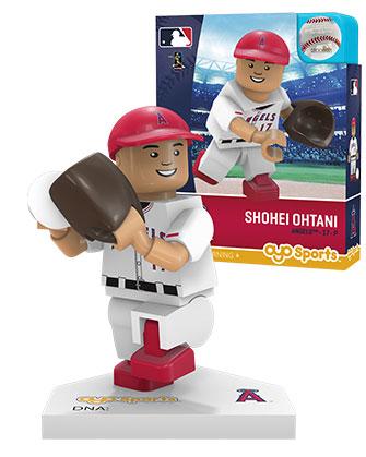 大谷翔平 ミニフィギュア ロサンゼルス・エンゼルス (ピッチング/ホワイト) OYO Baseball Minifigure (Shohei Ohtani: Los Angeles Angels of Anaheim)