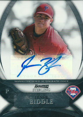 Jesse Biddle 2010 Bowman Sterling Prospects Autographs / ジェシー ビドル