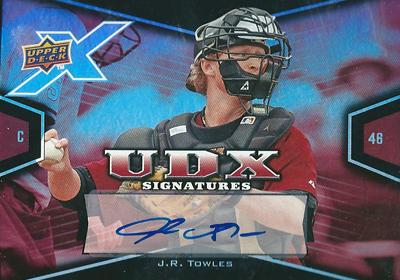 J.R. Towles 2008 UDX Signatures / J.R. タウルズ