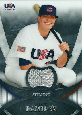Nick Ramirez 2010 Bowman Sterling USA Baseball Relics / ニック ラミレス