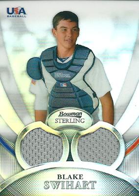 Blake Swihart 2010 Bowman Sterling USA Baseball Relics Refractors 199枚限定!(198/199) / ブレイク スウィハート