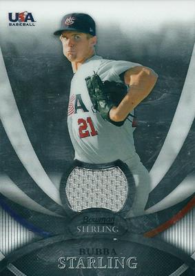 Bubba Starling 2010 Bowman Sterling USA Baseball Relics / ブバ スターリング