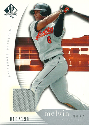 Melvin Mora 2005 UD SP Collections Jersey 199枚限定!(010/199) / メルビン モーラ