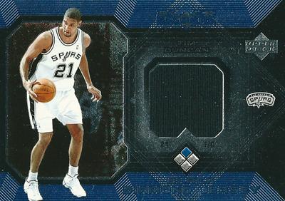 ティム ダンカン Tim Duncan NBAカード 04/05 Black Diamond Jerseys
