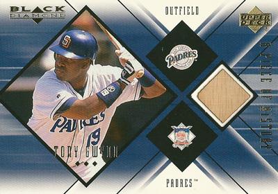トニー・グウィン MLBカード Tony Gwynn 1999 UD Black Diamond A Piece of History