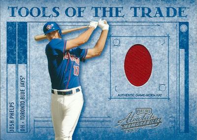 ジョシュ・フェルプス MLBカード Josh Phelps 2003 Playoff Absolute Memorabilia Tools of the Trade 028/125