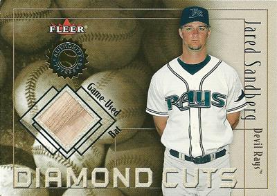 ジャレッド・サンドバーグ MLBカード Jared Sandberg 2001 Fleer Authority Diamond Cuts Memorabilia