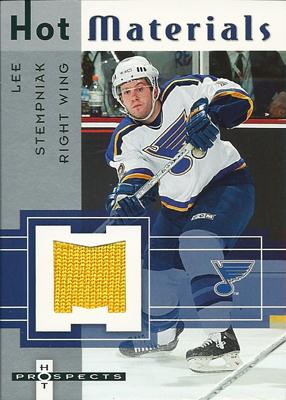 リー・ステンプニアク NHLカード Lee Stempniak 2005/06 Hot Prospects Hot Materials