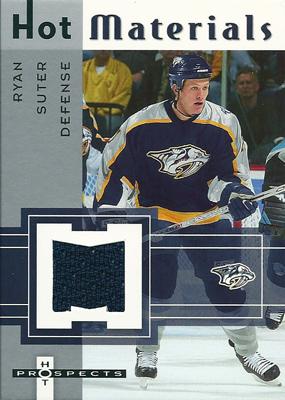 ライアン・スーター NHLカード Ryan Suter 2005/06 Hot Prospects Hot Materials