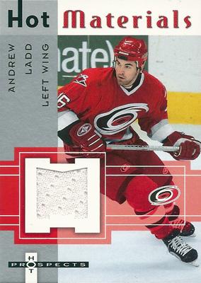 アンドリュー・ラッド NHLカード Andrew Ladd 2005/06 Hot Prospects Hot Materials