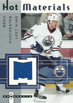 ブラッド・ウィンチェスター NHLカード Brad Winchester 2005/06 Hot Prospects Hot Materials