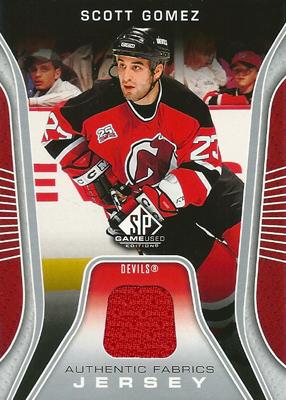 スコット・ゴメス NHLカード Scott Gomez 2006/07 SP Game Used Authentic Fabrics