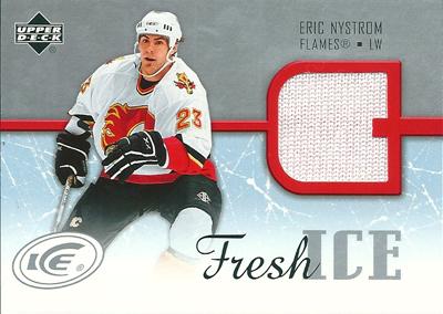 エリック・ニストロム NHLカード Eric Nystrom 2005/06 Upper Deck Ice Fresh Ice