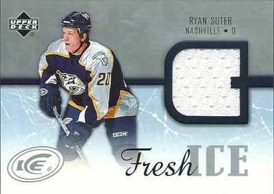 ライアン・スーター NHLカード Ryan Suter 2005/06 Upper Deck Ice Fresh Ice
