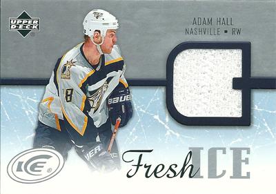 アダム・ホール NHLカード Adam Hall 2005/06 Upper Deck Ice Fresh Ice