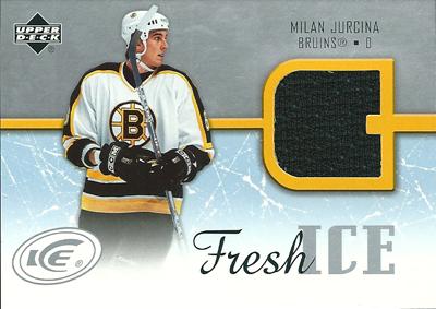ミラン・ユルチナ NHLカード Milan Jurcina 2005/06 Upper Deck Ice Fresh Ice